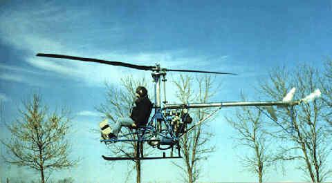 Skylark Homebuilt Helicopter